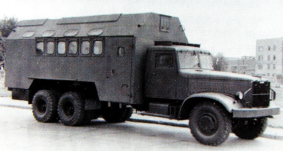 ЯАЗ, КрАЗ и двухтактные дизели: послевоенная тяжёлая автотехника для Советской армии