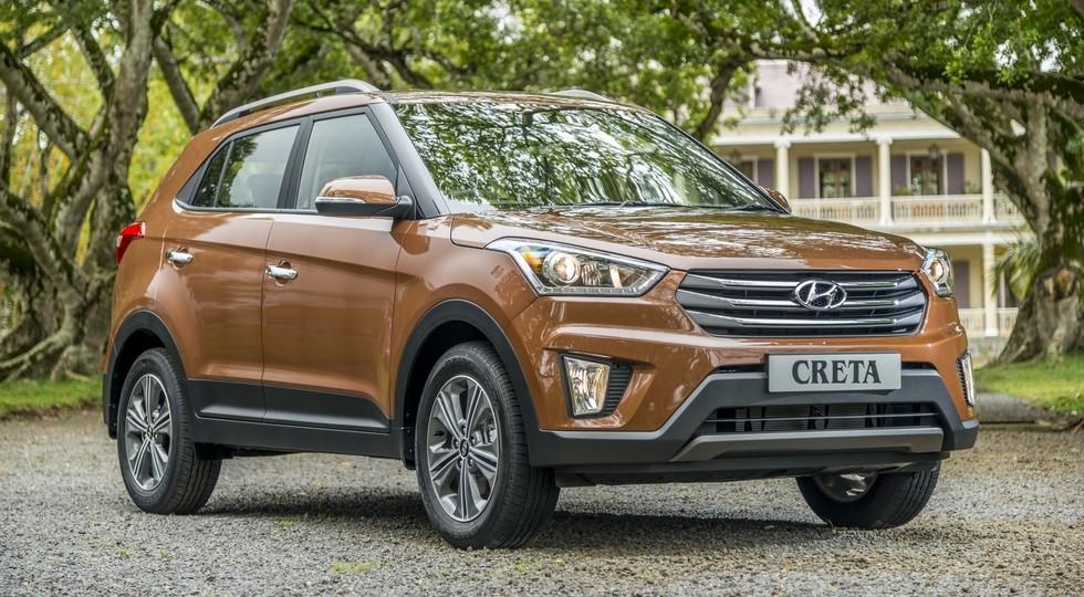 На фото: Hyundai Creta, версия для индийского рынка
