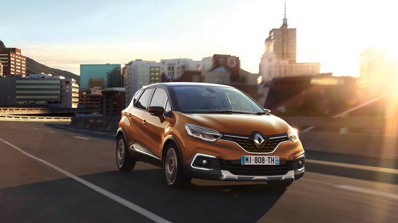 На фото: Renault Captur '2017