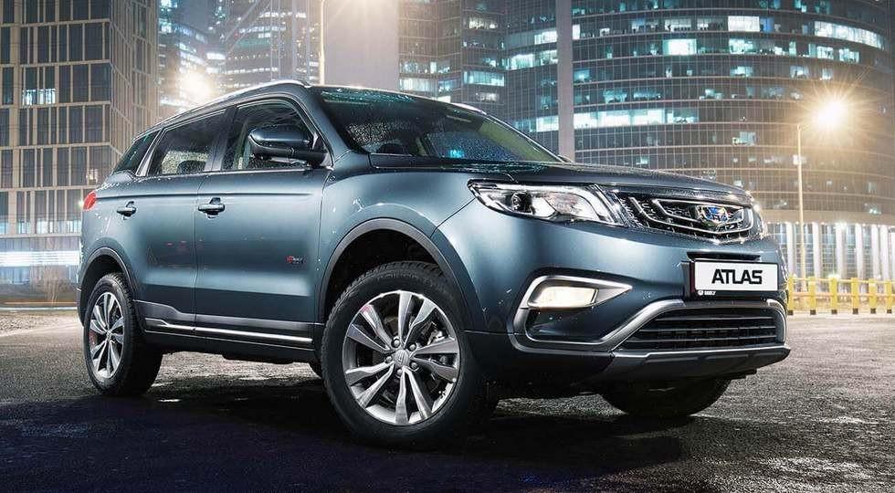 Новый Geely Atlas сертифицирован для РФ: турбомотор Volvo, три коробки и китайская сборка