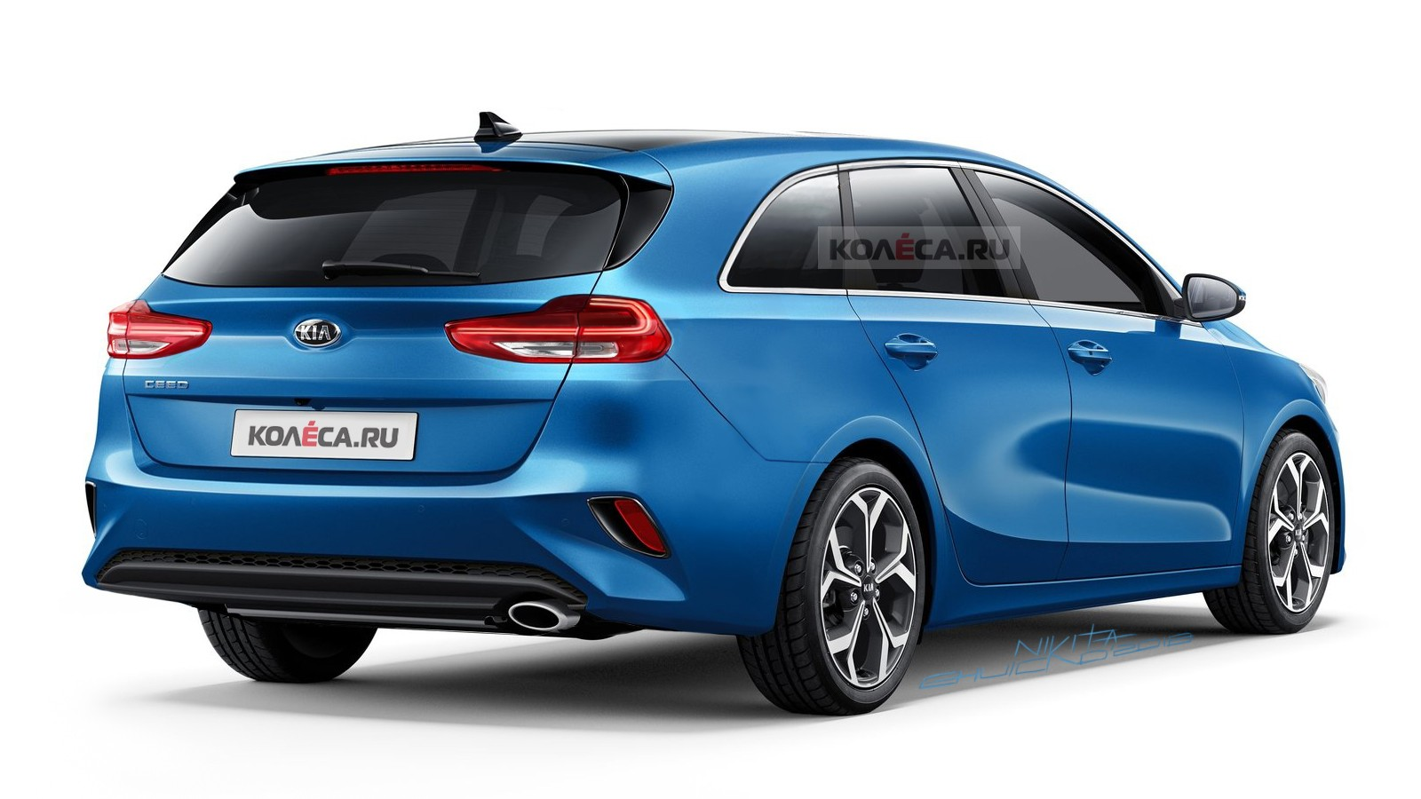 Kia Ceed Sportwagon rear1