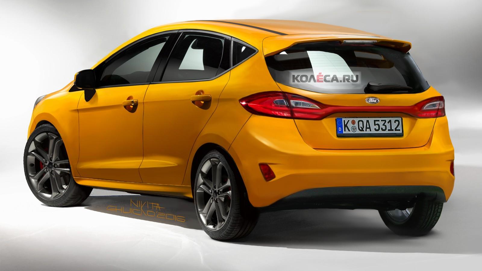 Ford Fiesta rear