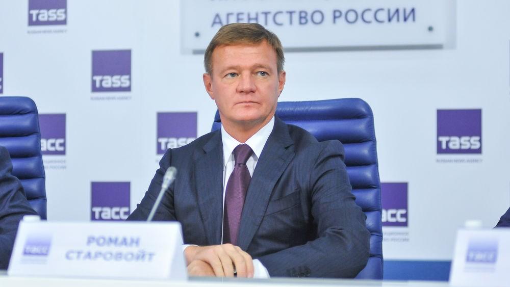 На фото: глава Федерального дорожного агентства Роман Старовойт
