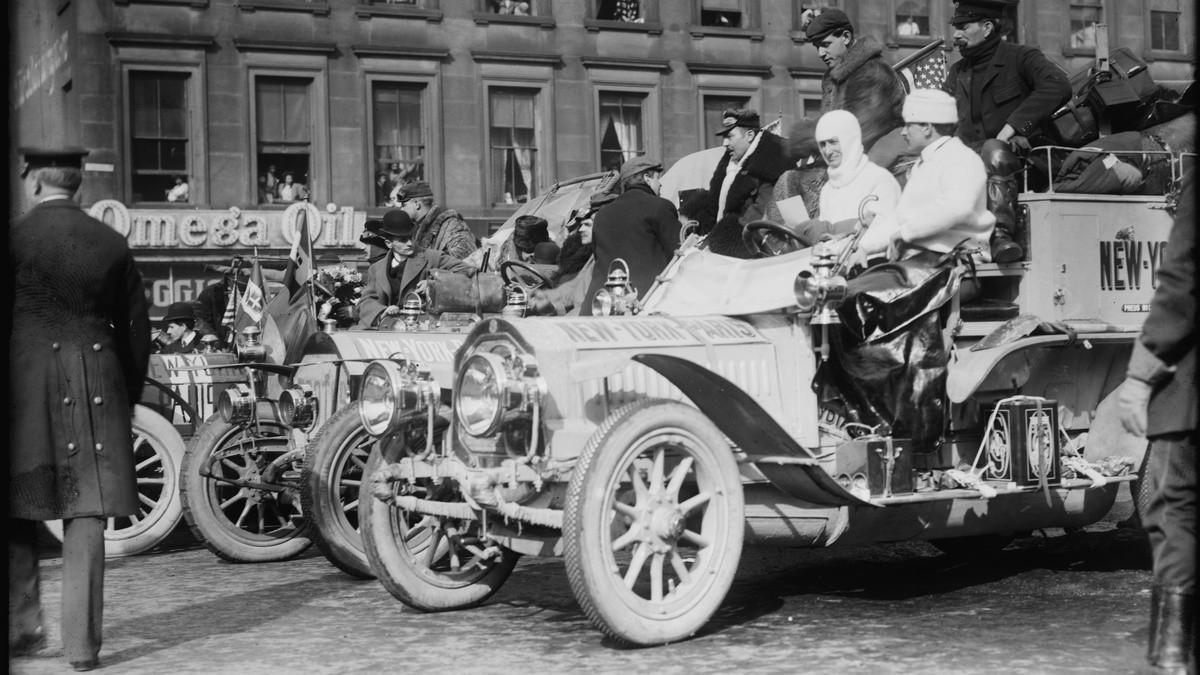 Автомобили на старте