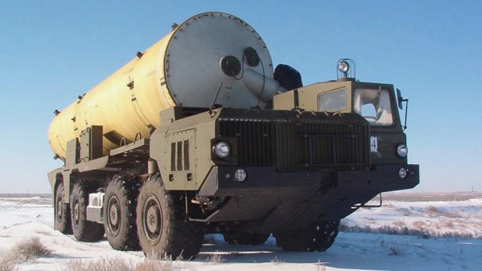 Транспортная машина противоракетного комплекса «Амур» (фото Р. Белозерского)