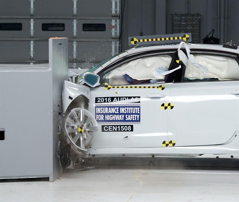 Audi A6 краш тест