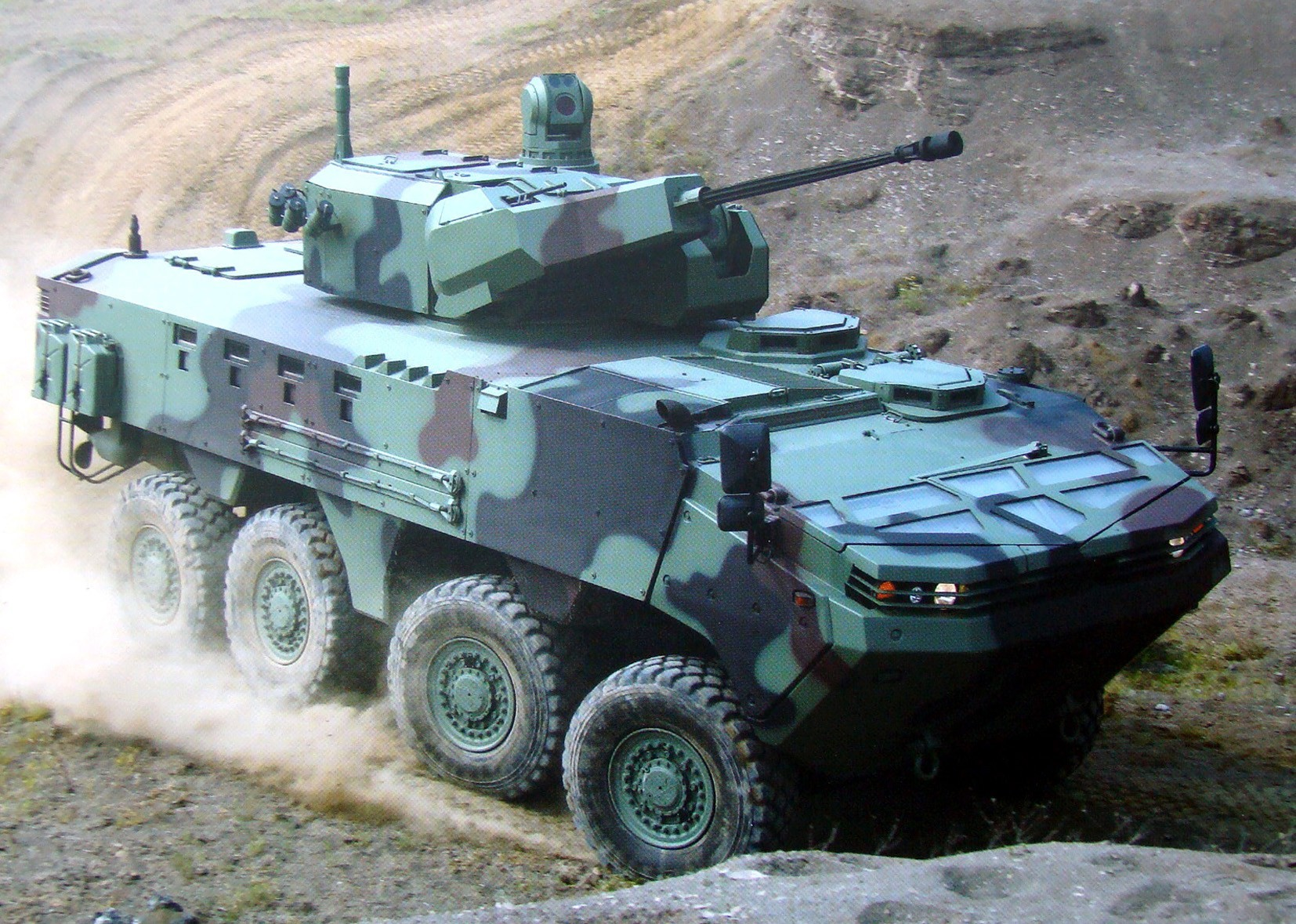 Бронемашина Arma с башней Mizrak-30 и автоматической 30-мм пушкой