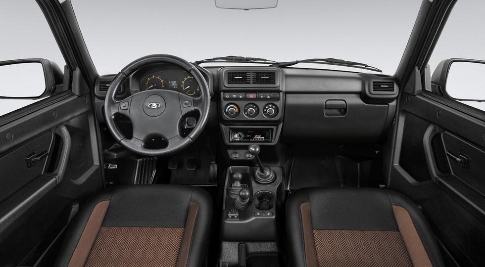 Внедорожник Lada Niva Bronto с новым салоном предложен в двух версиях