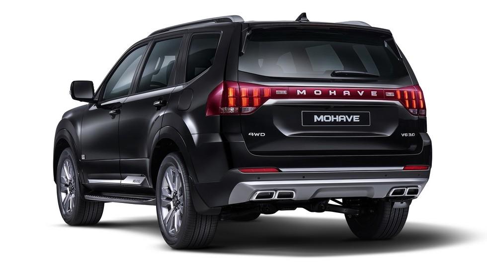 Тот самый «шедевр»: Kia Mohave-2020 сохранил дизайн предвестника. Дизель тоже в строю
