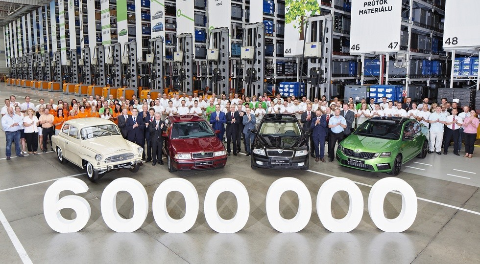 6 000 000 Škoda Octavia