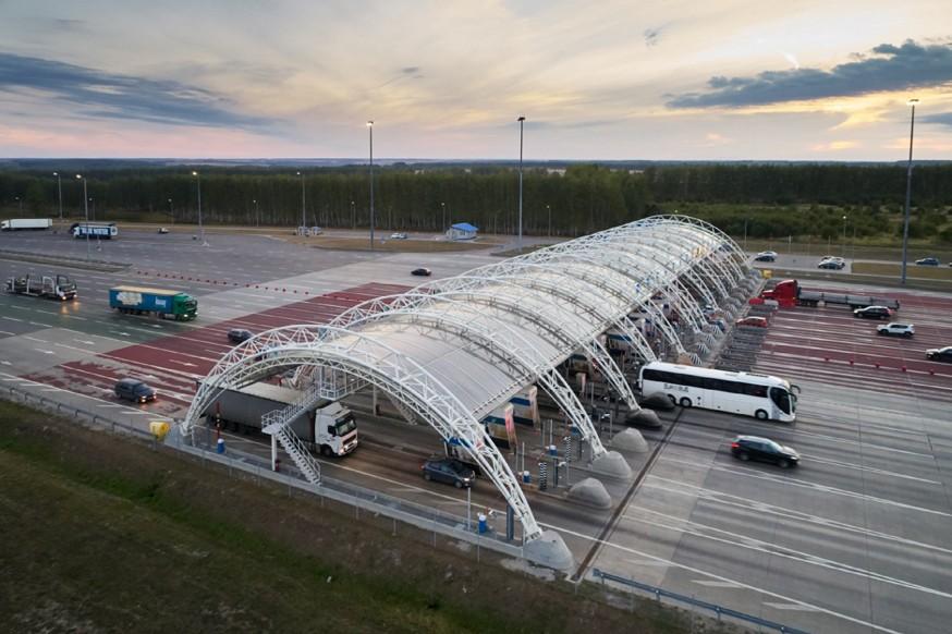 Пандемия коронавируса не сильно повлияла на доходность платных дорог в России
