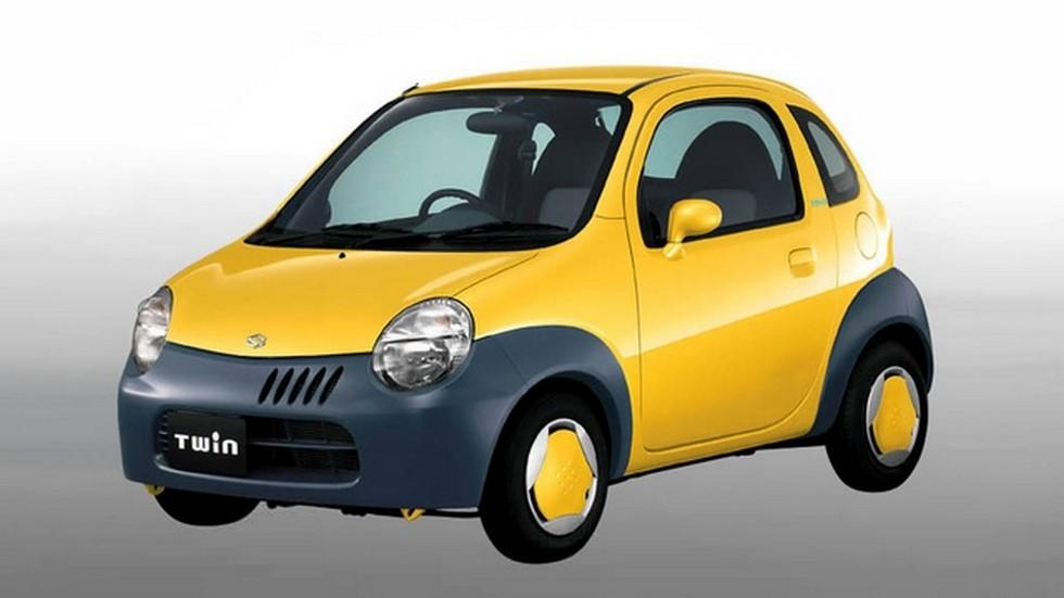 На фото: Suzuki Twin. Япония, 2003