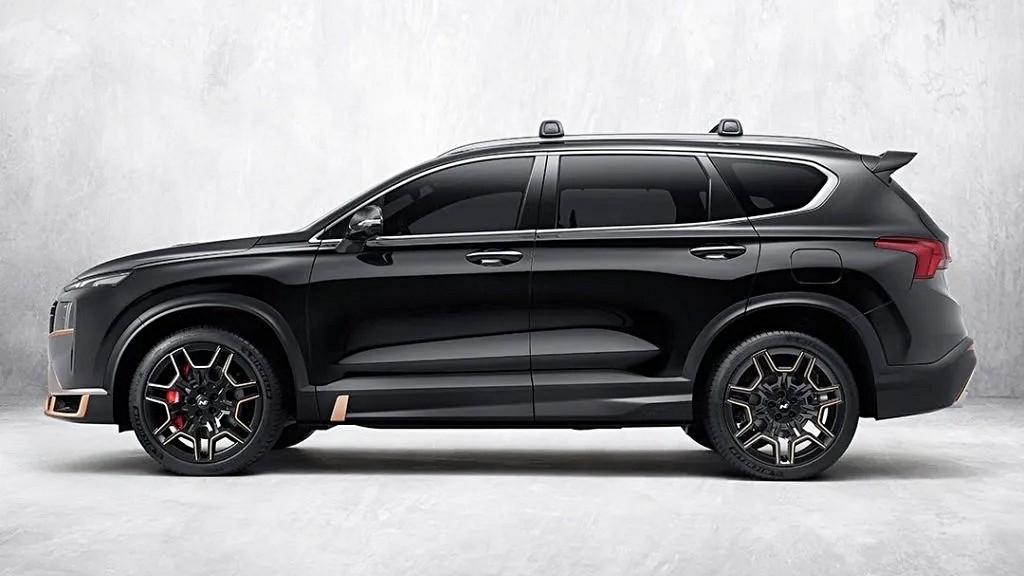 Всё злее и злее: представлен Hyundai Santa Fe с пакетом N Performance
