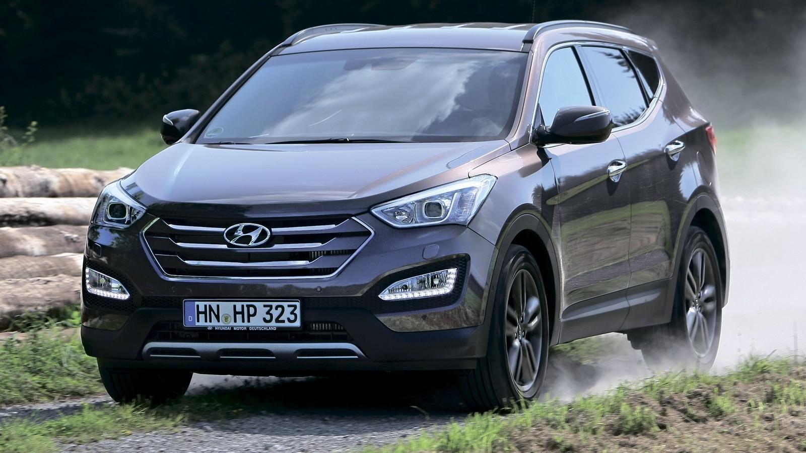 Hyundai Santa Fe (DM) '2012–15