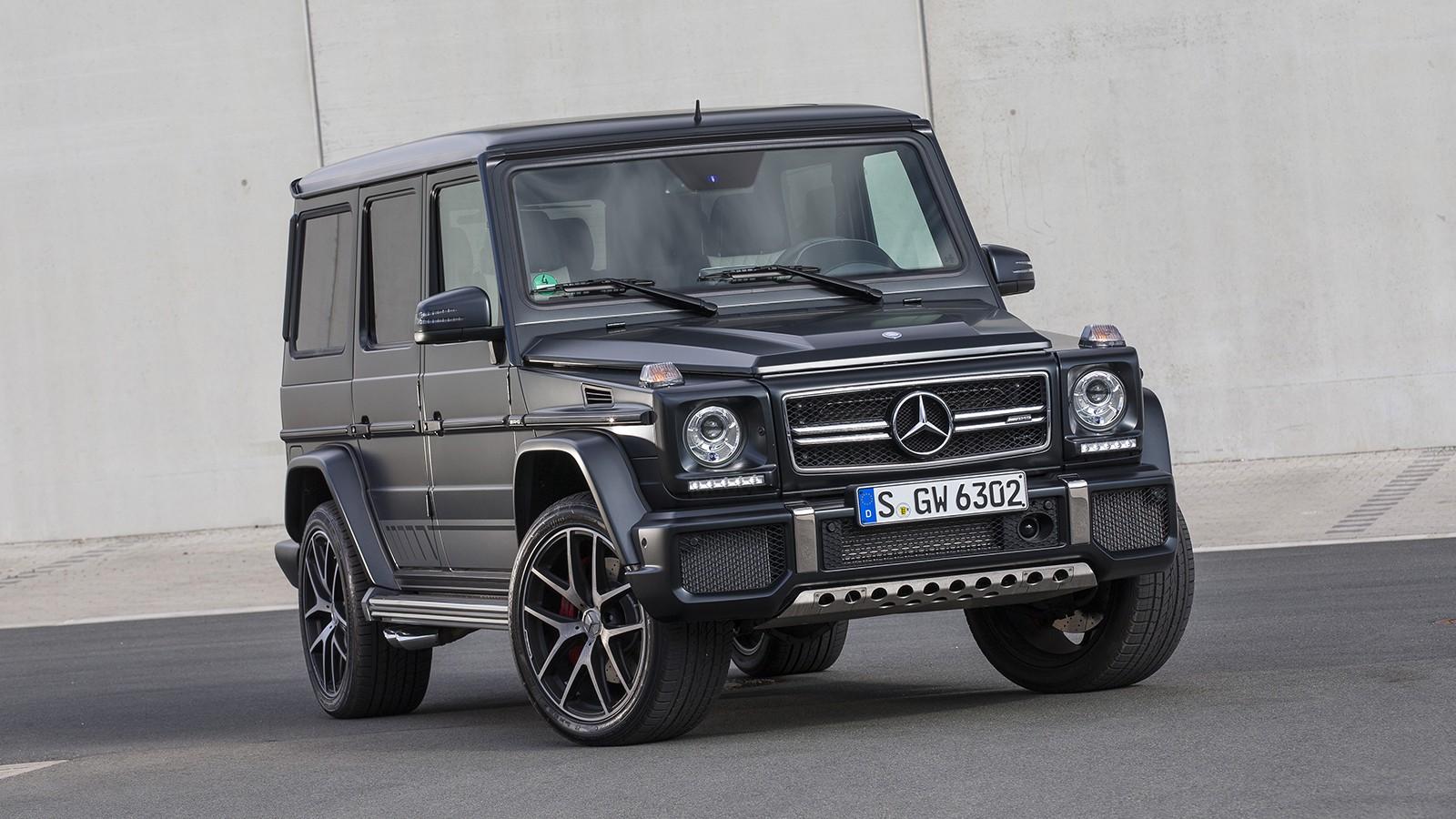 На фото: Mercedes-AMG G 63