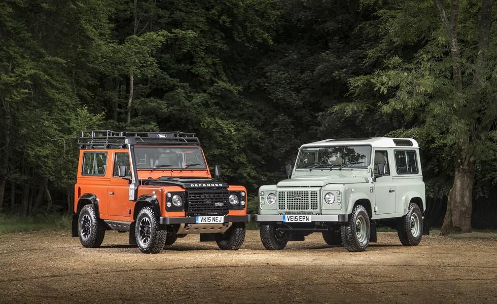 Land Rover Defender последнего поколения