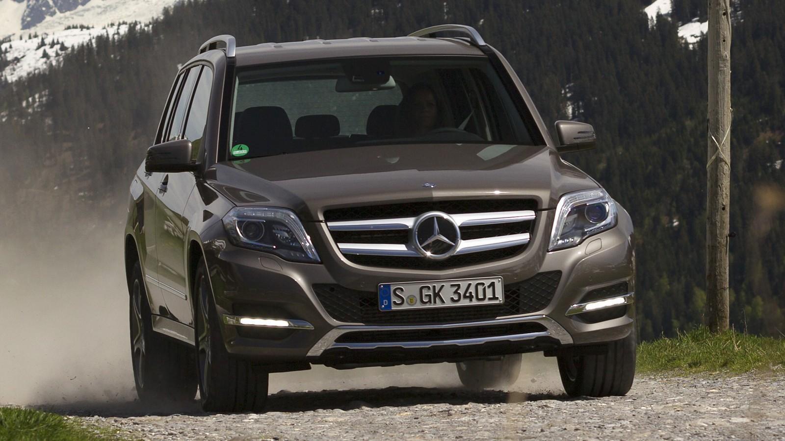На фото: Mercedes-Benz GLK