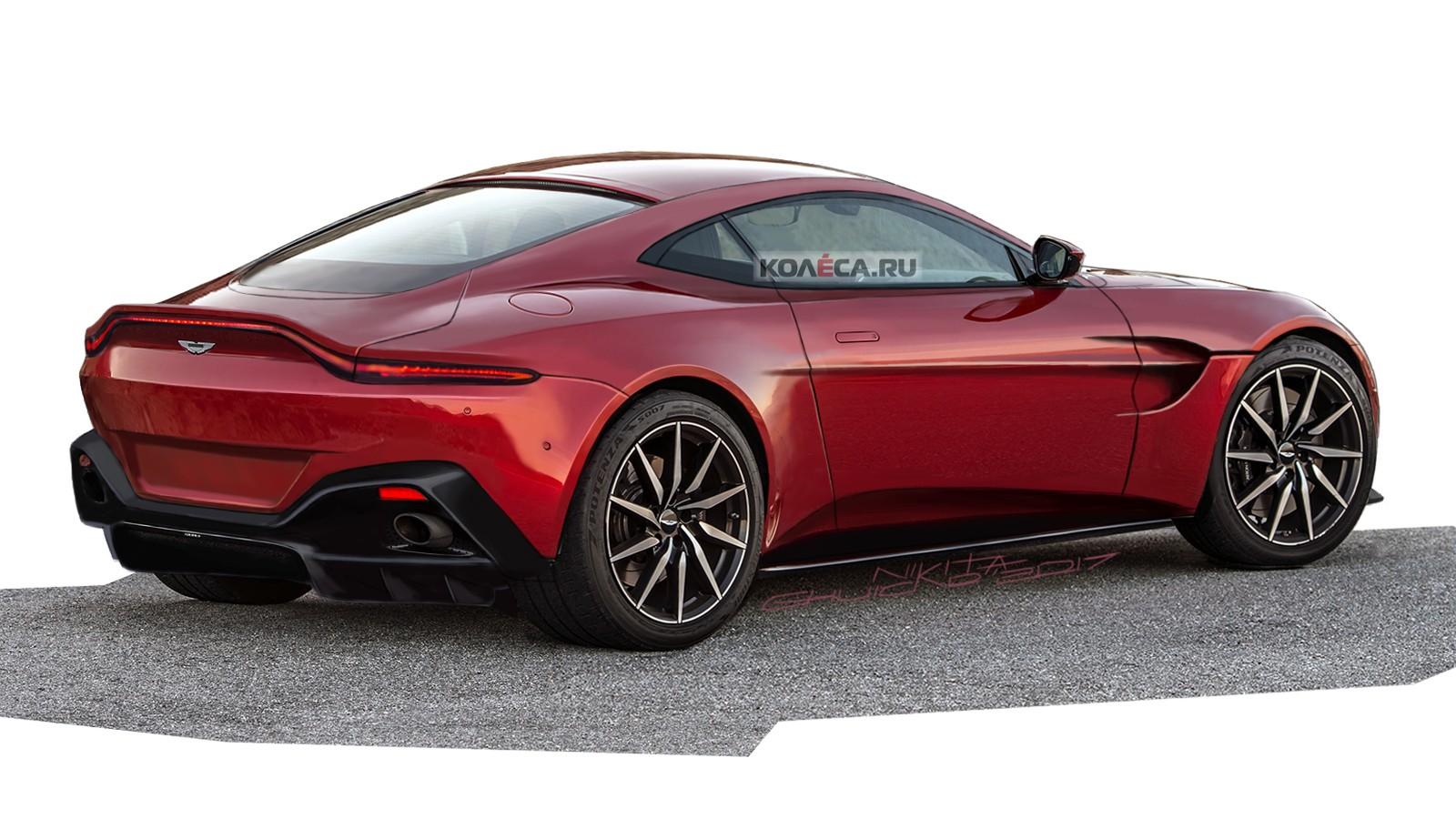 Aston Vantage rear2