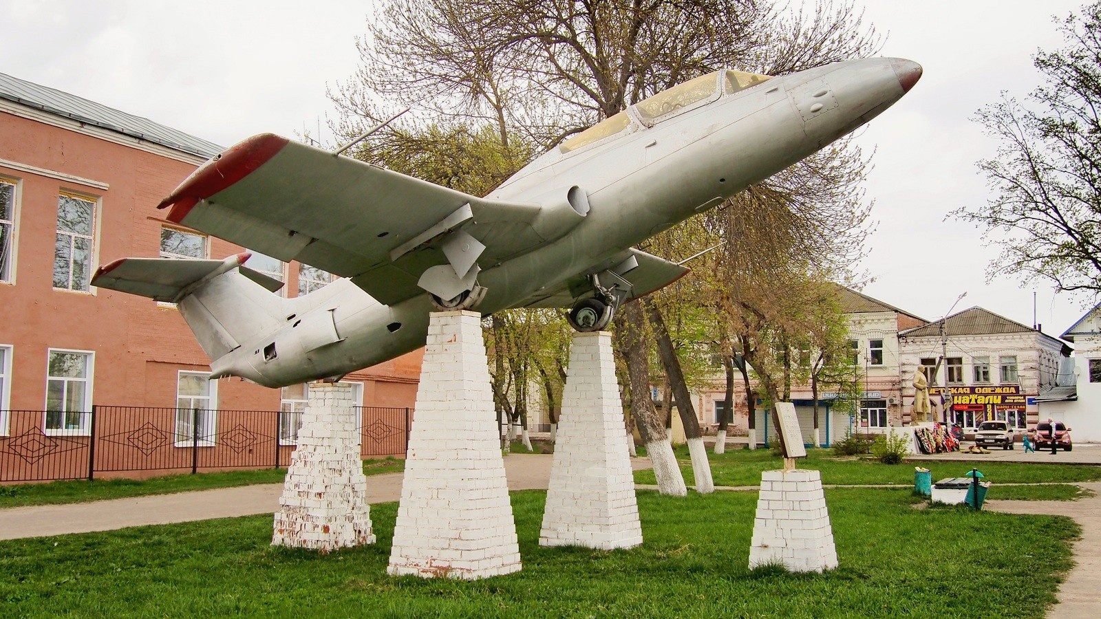 реактивный L-29