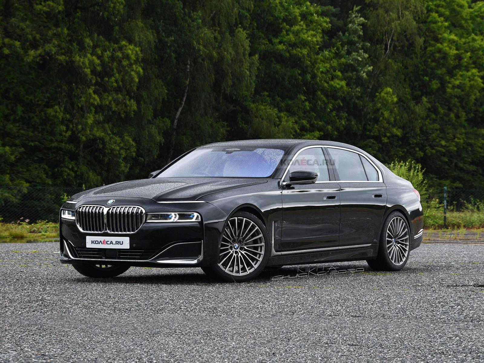 Новая BMW 7 серии: первые изображения