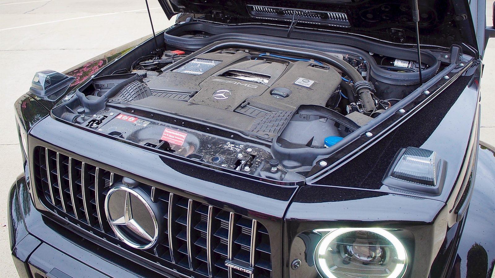 Mercedes-Benz G-Klasse двигатель