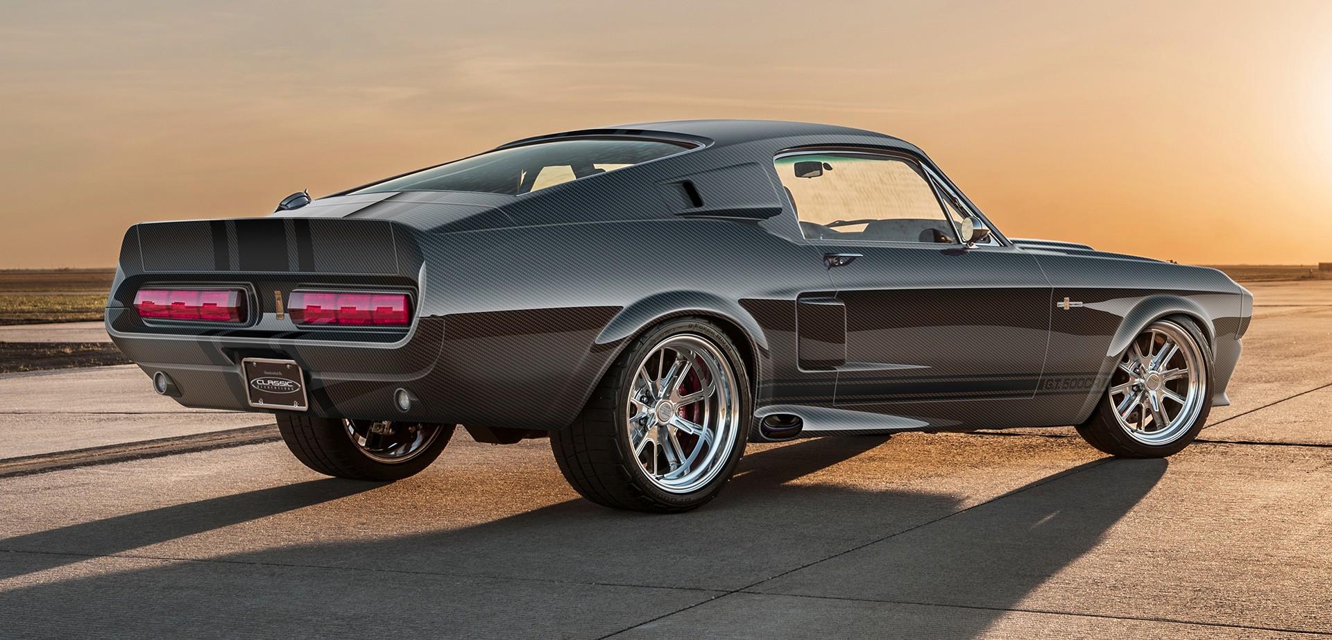 Карбоновая диета: Shelby GT500CR Carbon Edition легче оригинала на 272 кг