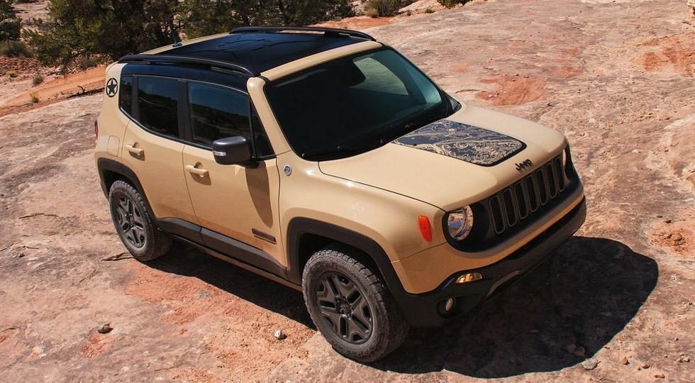 На фото: Jeep Renegade Deserthawk