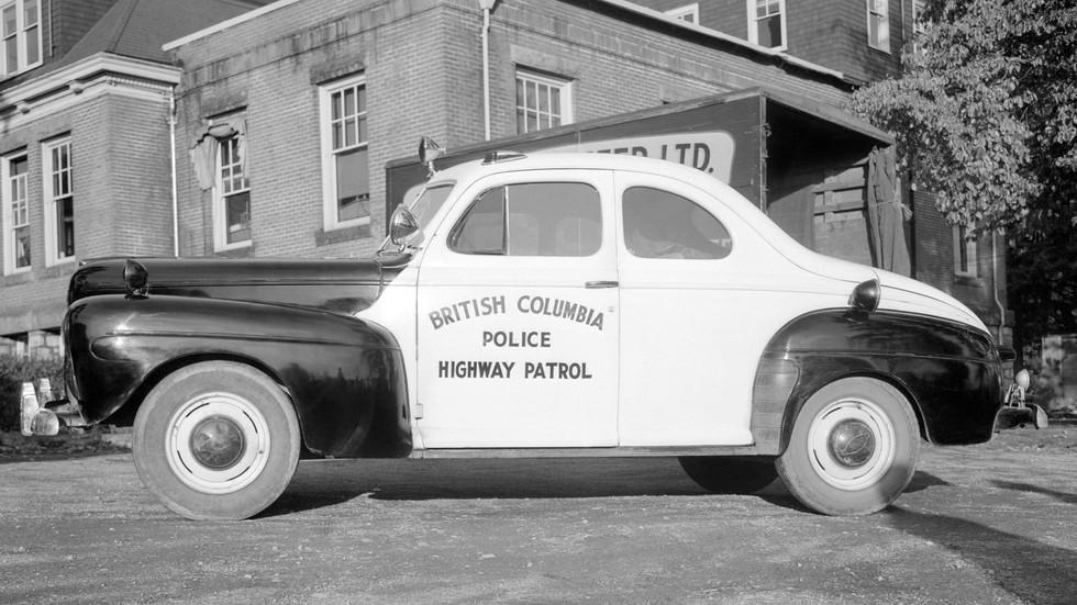 1942 ford v8 super deluxe полицейский купе
