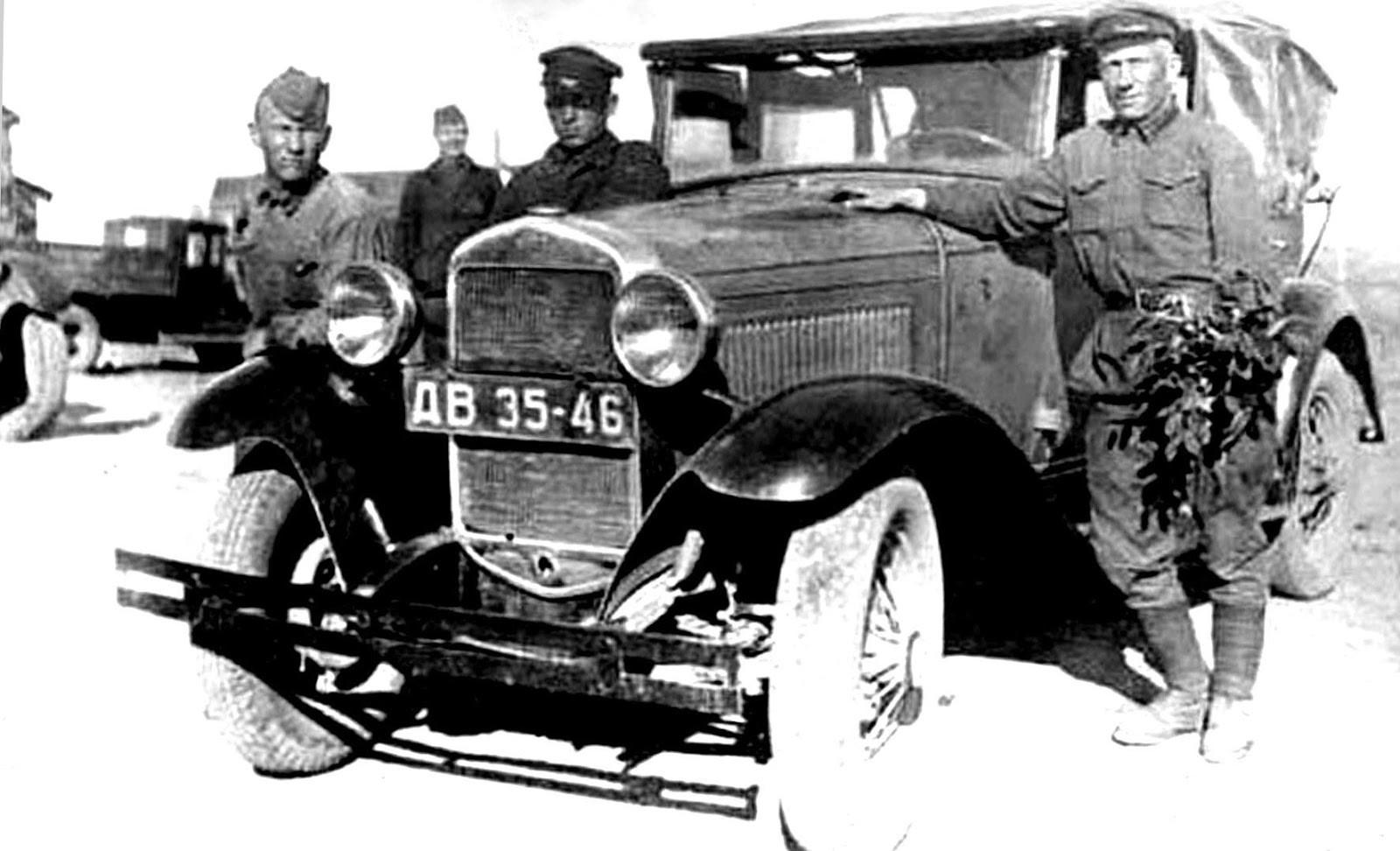 армейские легковушки СССР 2