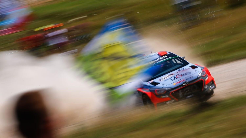 Финская гонка требует от пилотов очень серьезной скоростной подготовки