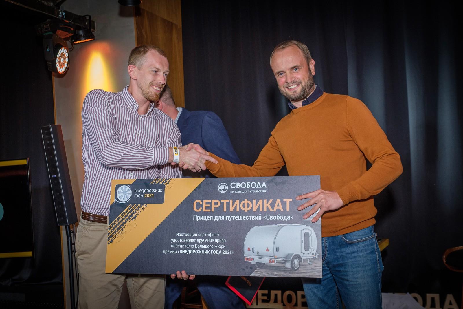 Стали известны лучшие внедорожники и кроссоверы в России в 2021 году