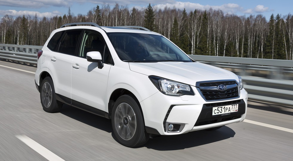 Subaru Forester 2016 модельного года (121274)