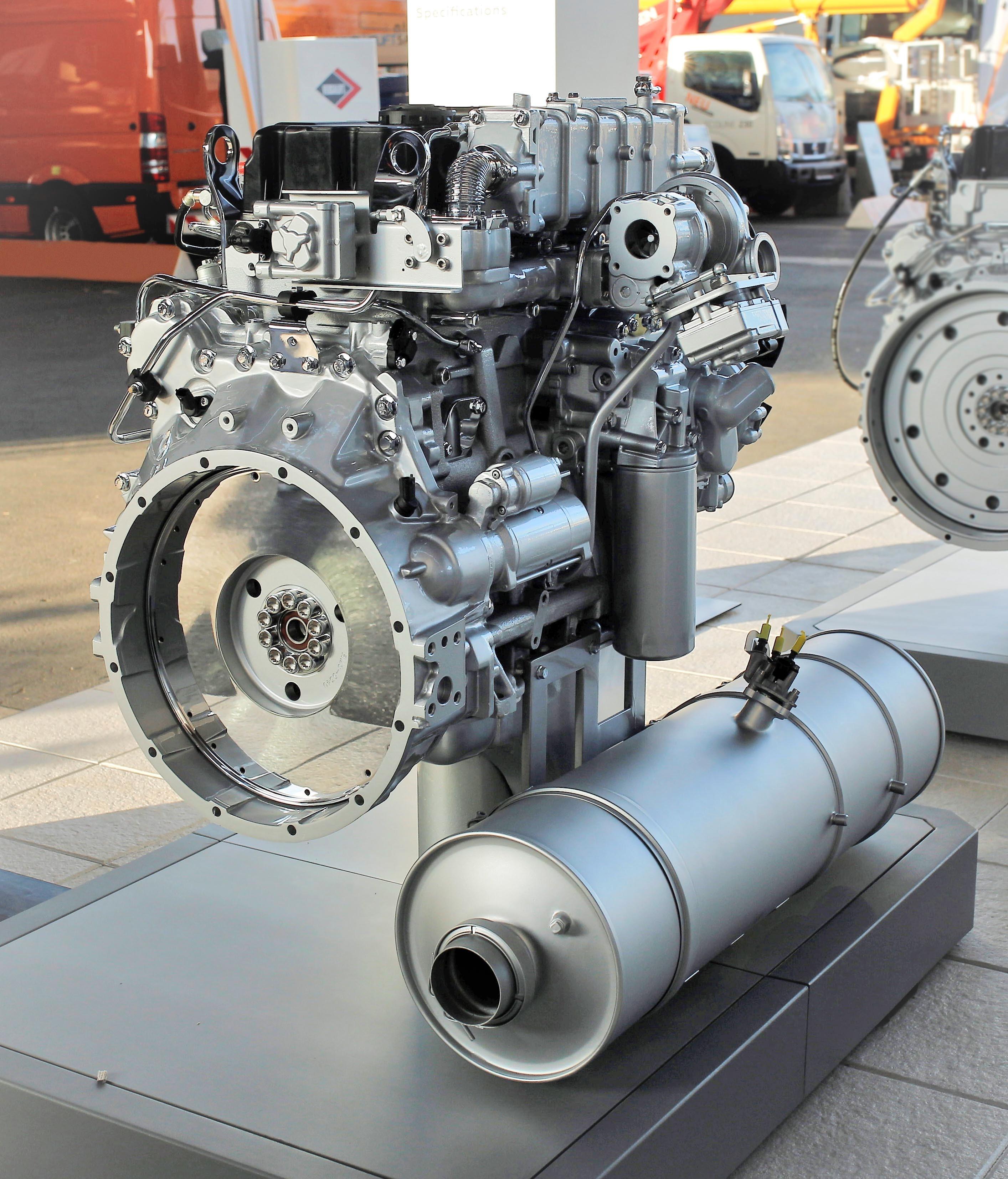 Euro-6 Diesel Engine