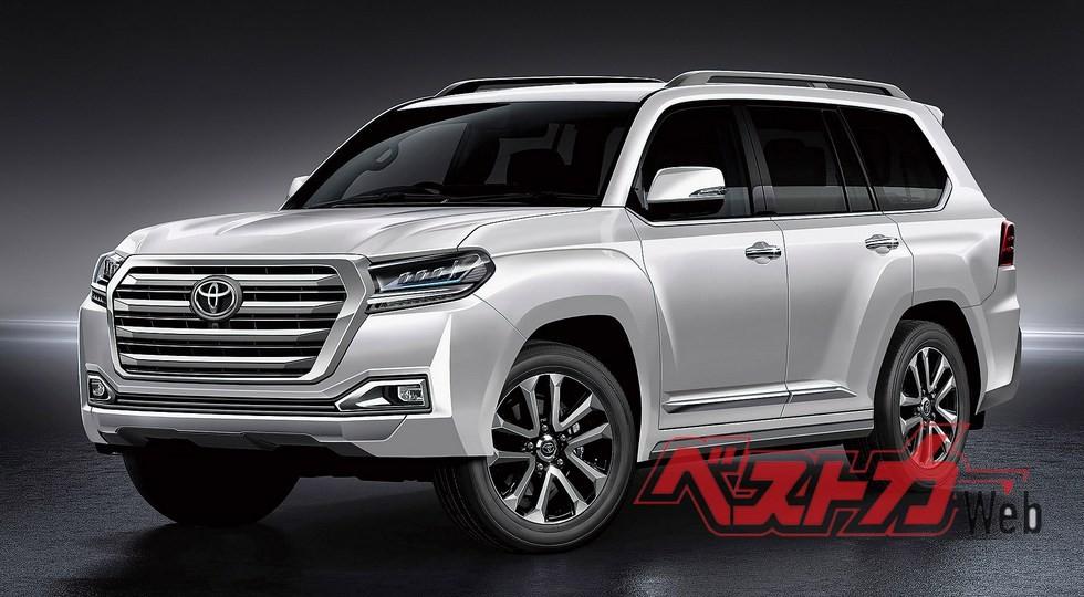 Так может выглядеть новый Toyota Land Cruiser, по мнению дизайнера японского издания