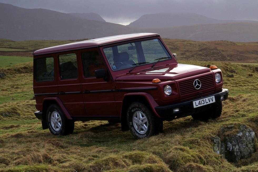 Mercedes-Benz 300 GE UK-spec (W463) '01.1990–94