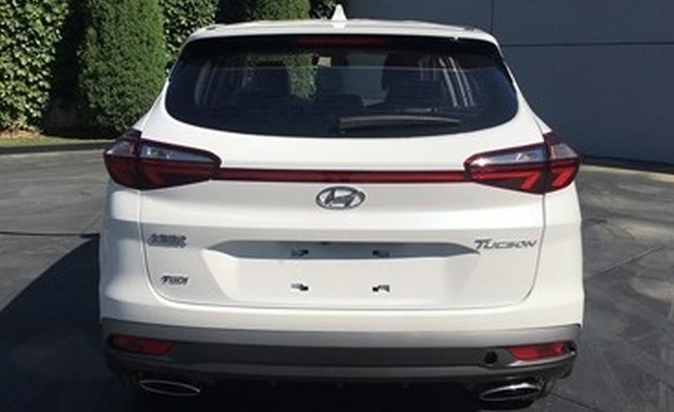 На фото: обновленный Hyundai Tucson, версия для Китая