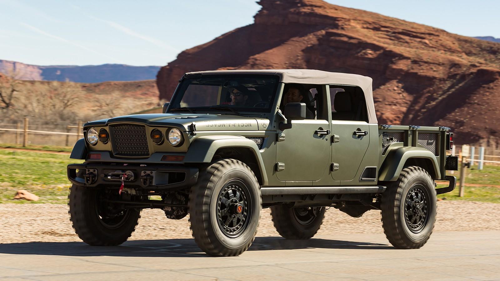 На фото: Jeep Crew Chief 715 Concept