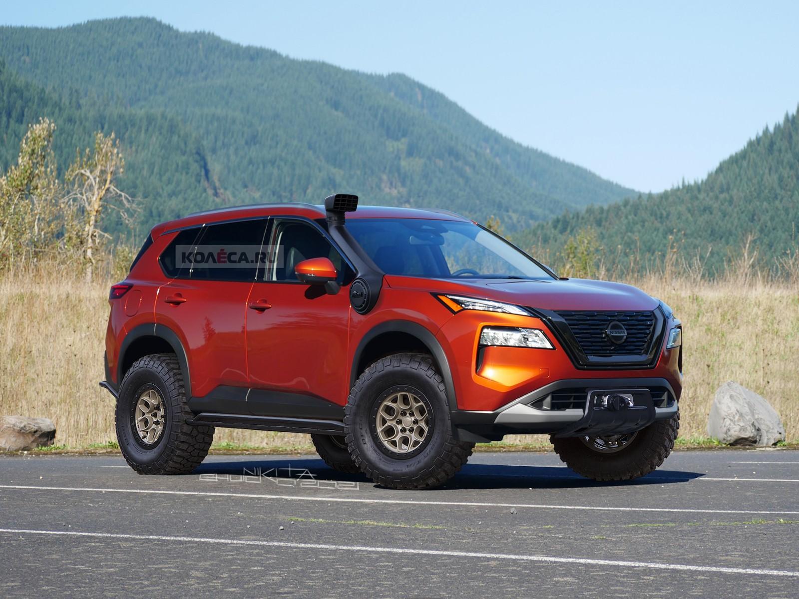 Семейный проходимец: новый Nissan X-Trail во внедорожном тюнинге