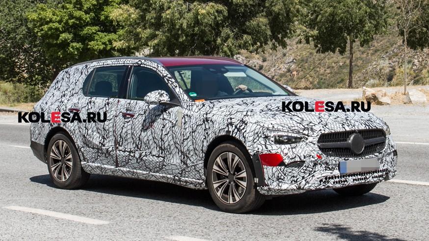 Mercedes-Benz готовит новый C-Class All-Terrain: «приподнятый» универсал проехался на камеру