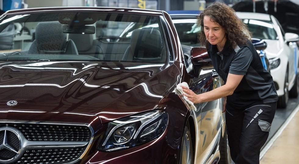 Mercedes-Benz Werk Bremen: Produktion des neuen E-Klasse Cabriolets gestartet