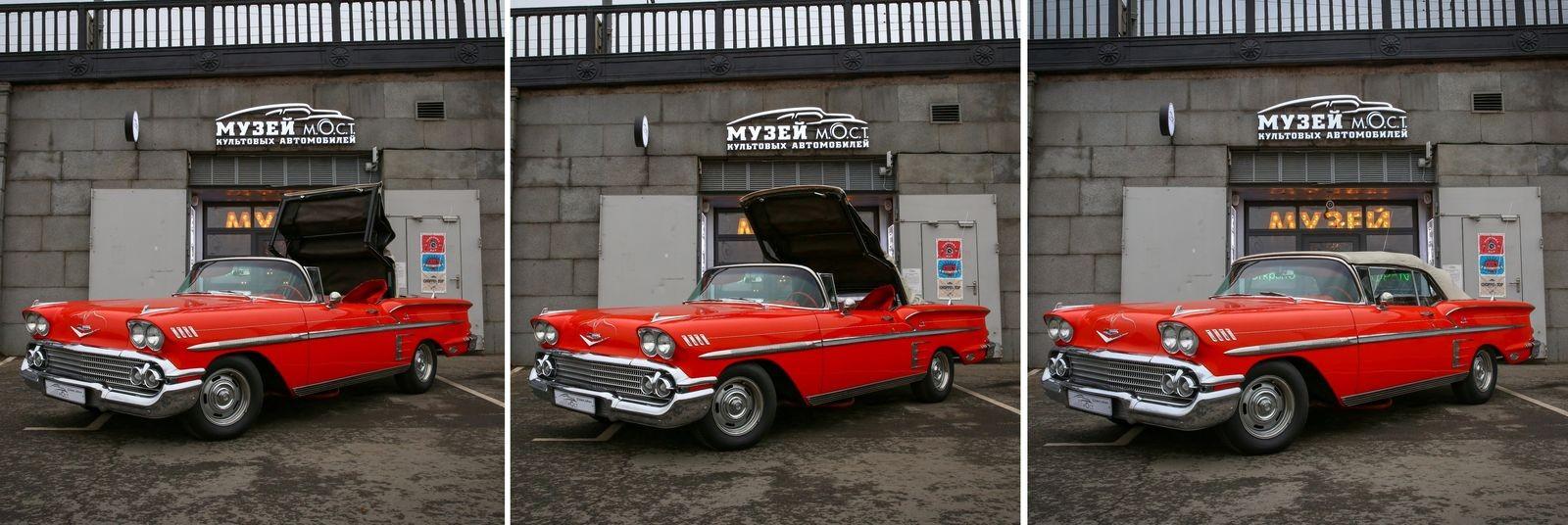 Красные в городе! Тест-драйв Chevrolet Impala 1958