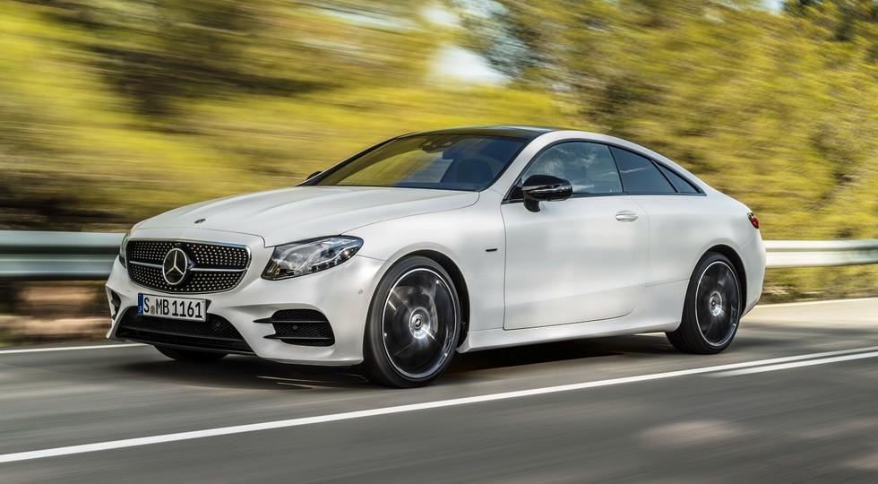 На фото: Mercedes-Benz E 400 4Matic AMG Line Coupe