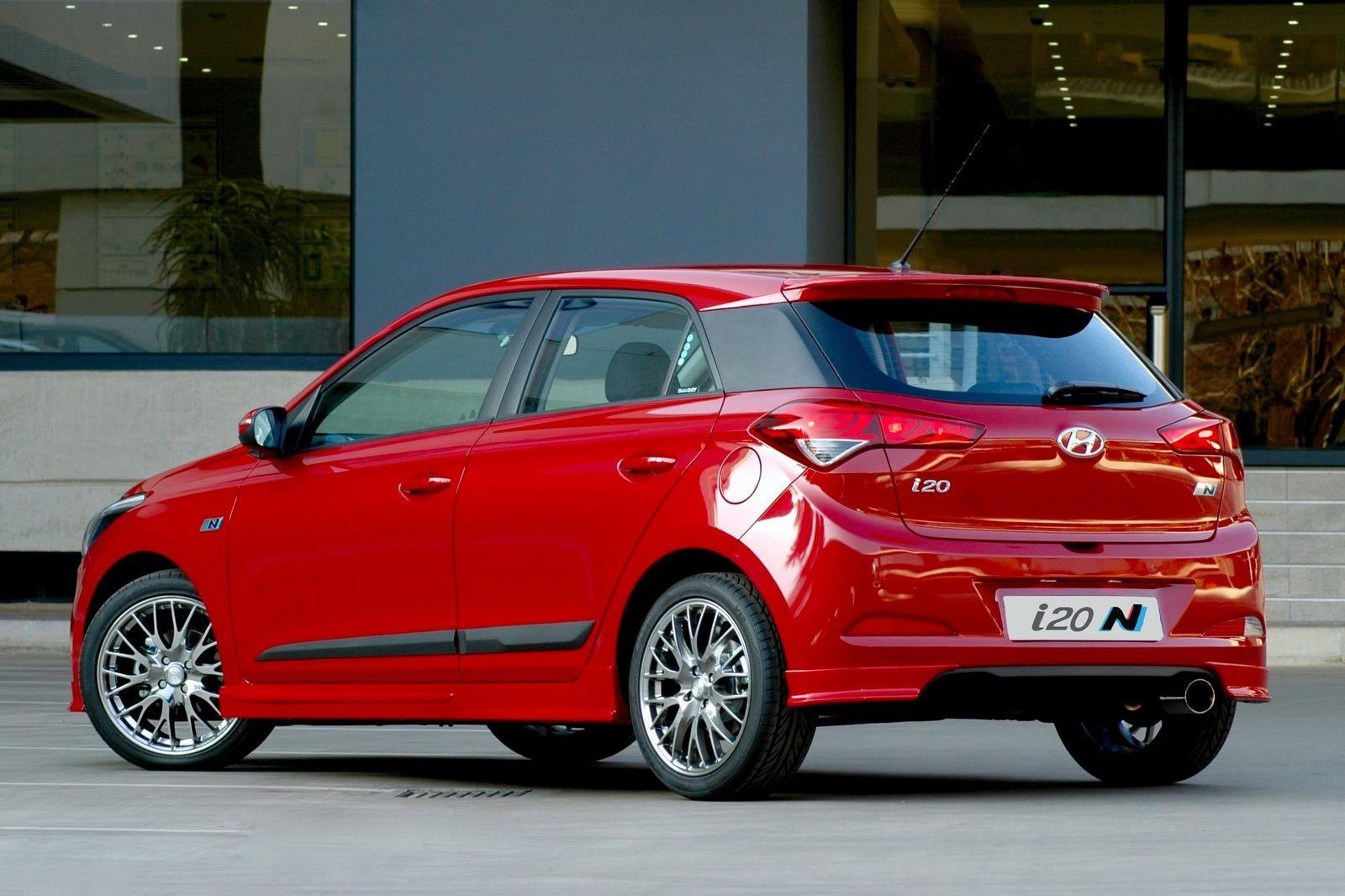 Hyundai i20 N для рынка ЮАР