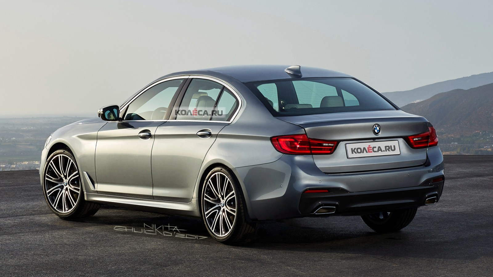 На фото: BMW 3 Series G20 в интерпретации художника портала Колёса.ру