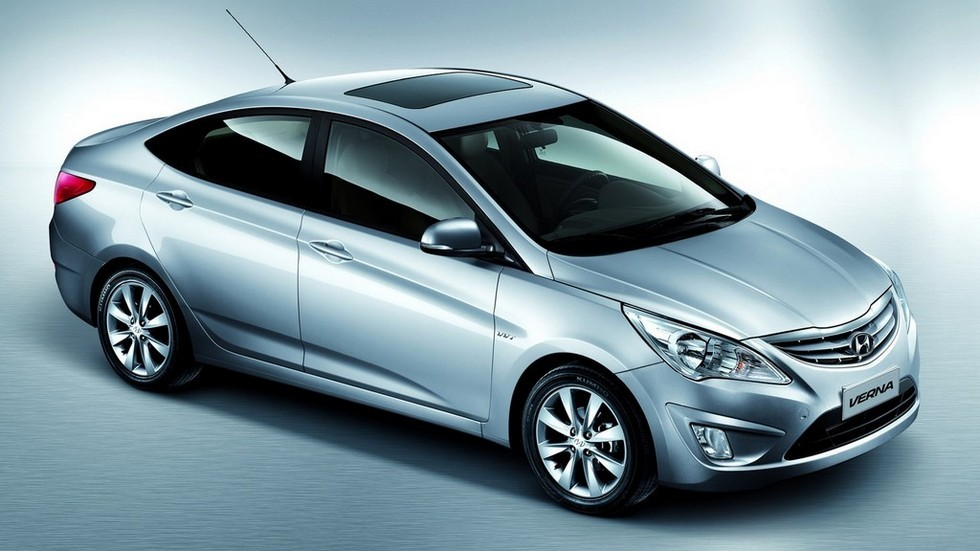 Hyundai Verna China (RB) '2010–14