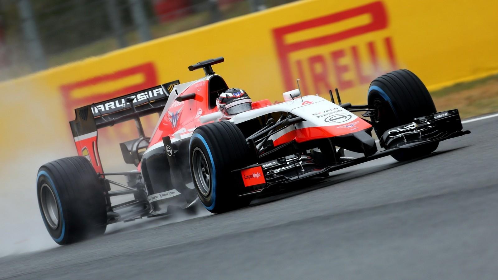 На фото: Marussia MR03 '2014