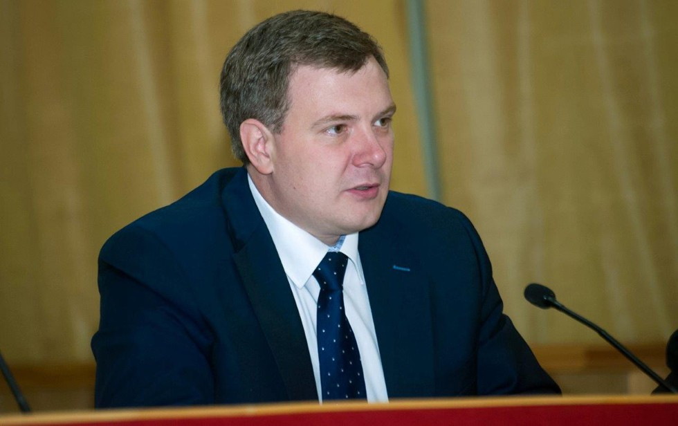 На фото: заместитель директора по автоматизации бизнес-процессов МОЭСК Сергей Степнов