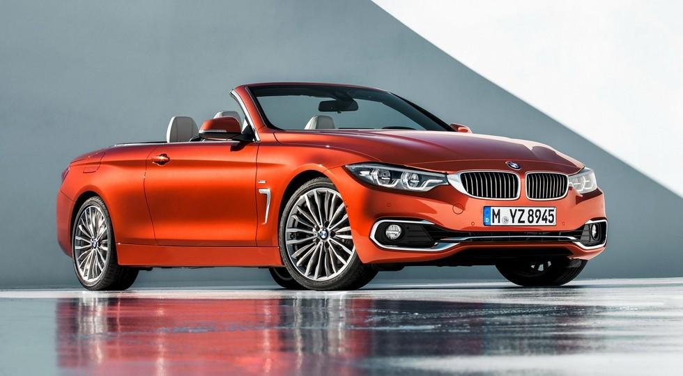 На фото: BMW 4 Series Cabrio