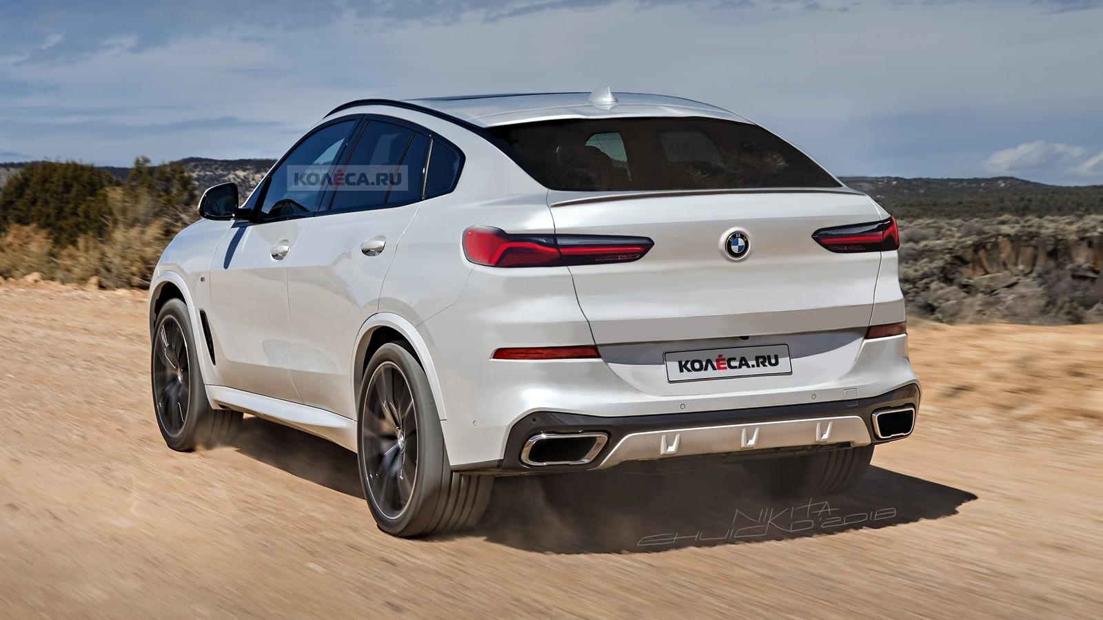 BMW X6 rear2