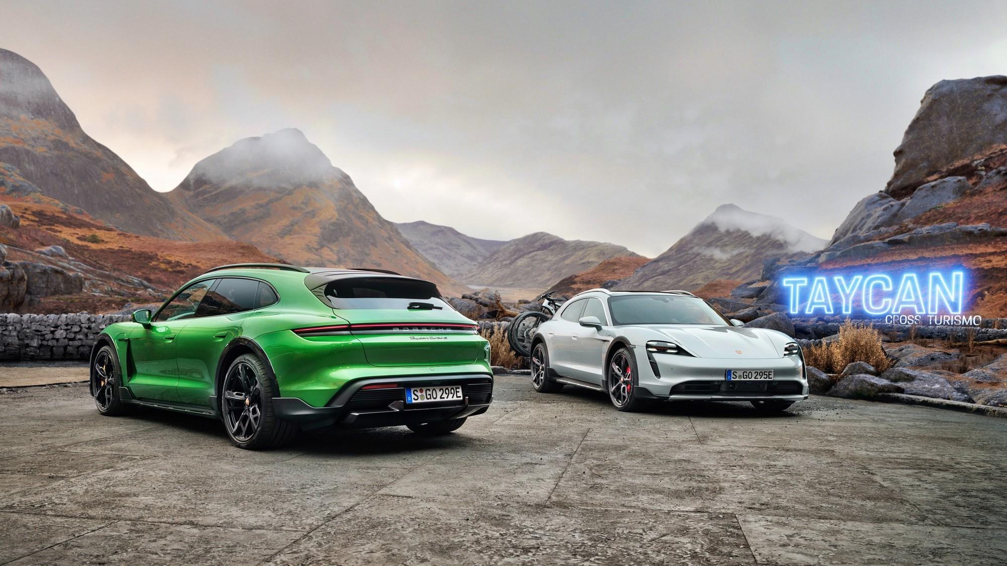 Многоликий Porsche Taycan: вслед за универсалом могут появиться купе и кабриолет